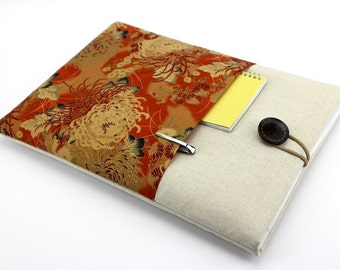 Cover Case Laptop Sleeve Macbook Pro 15 Inch Retina Display custom Size Fit Notebook Case Chrysanthemum 5 colors