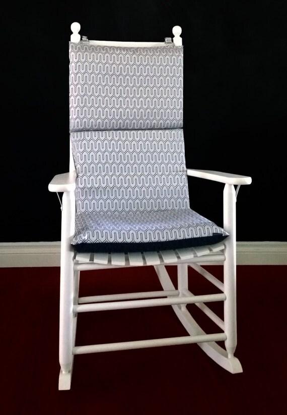 rocking chair cushion cover dwell studio maze by rockincushions
