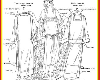 ABC of Art Deco Dress Making Printable 140 Pages of Dress Designs and Downton Abbey Costume Instructions ~ Top Reviews ~ Instant Download