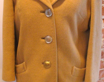 Vintage Camels Hair J.J O'Donnell Coat