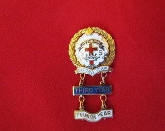 Methodist Sunday School Pin Pins Methodist Memorabilia Vintage Church Pin