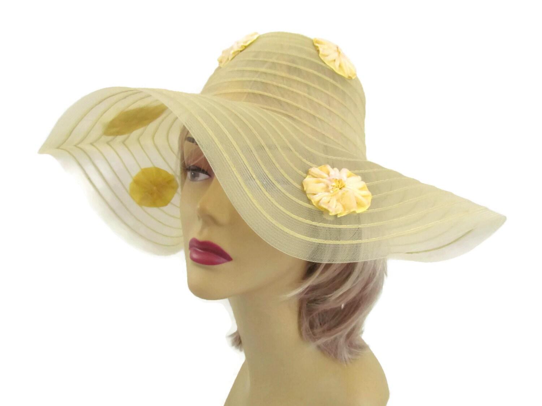 1970s floppy sun hat fancy hat womens hats summer hats vintage