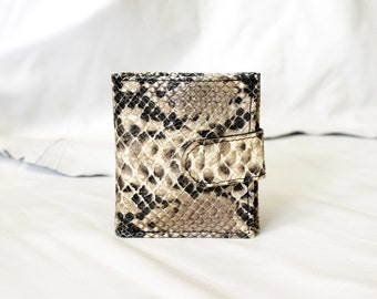 Bitty Snake Leather Wallet