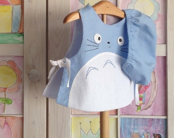 Totoro baby, blue totoro 2 piece set, totoro baby outift, Studio ghibli, totoro clothing, baby shower gitfs, totoro baby, made in spain,