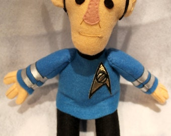 Star Trek Spock plush toy