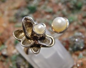 Cultured Pearl Sterling Ring