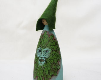 Cornish Pixie Elf Greenman