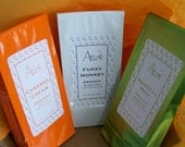 Tea of the Month Club / Free shipping in USA / Organic / 4 Month Subscription /College Care Pkg / Father's Day / Birthday / Any Day