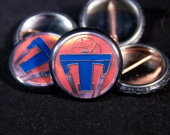 "Tomorrowland | Logo | 1"" Button 