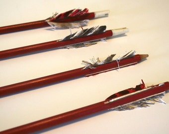 Arrows in Red (Wood)