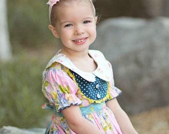 Pink Lace Headband Diamond Rhinestone -  Flower Girl - Newborn Infant Baby Toddler Girls Adult Wedding Baby Pink