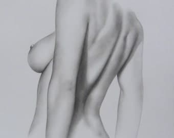 Female Nude Drawing 120