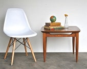 Vintage Wooden Side Table | Mid Century Furniture