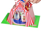 Circus Paper Theater - DIY Paper Craft Kit - Kids Craft Kit - Puppets - Paper Toy