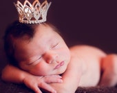 Baby Crown-Austrian Crystal Prince or Princesss Crown Photography Prop