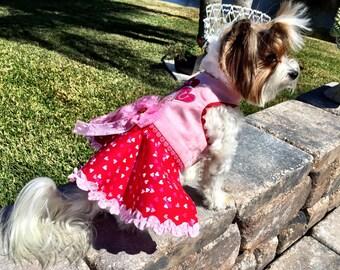 VALENTINE:   I Love You Dog Dress