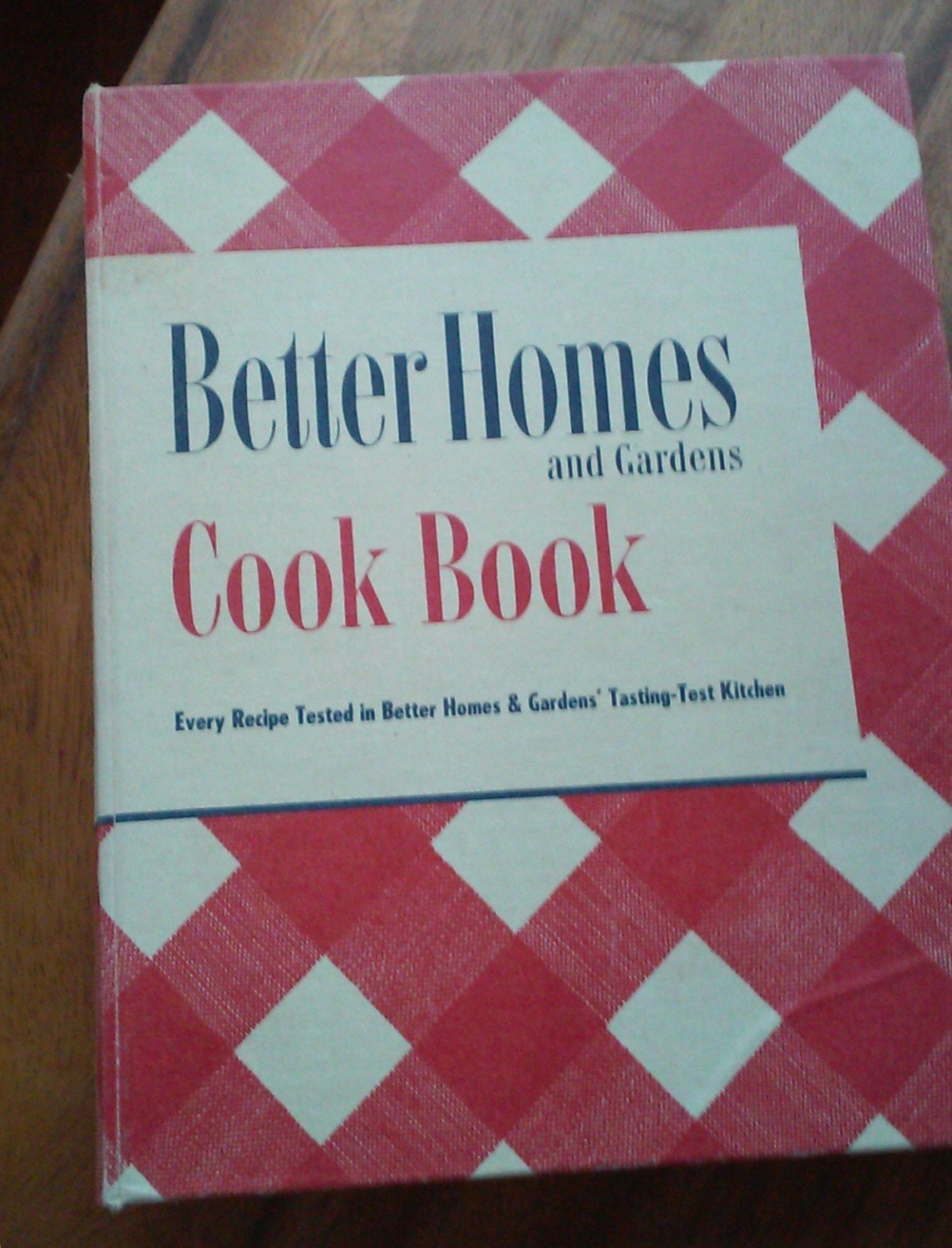 Vintage better homes and gardens cookbook 1951 by - Vintage better homes and gardens cookbook ...