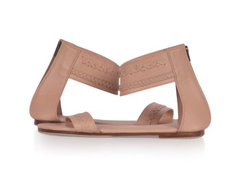 BUDDHA. Leather sandals women / leather shoes / barefoot shoes / nude leather sandals. Sizes 35-43. Available in different leather colors.
