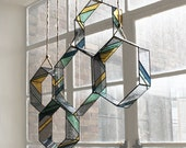 Stained Glass HEX Elements (set of 5)