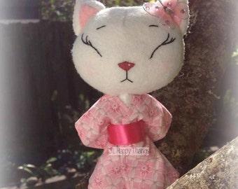 Kimi Kimono Kitten