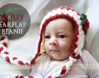 Holly Earflap Beanie