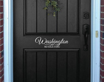 Laundry Door Or Wall Decal Decorative Laundry Room Sign