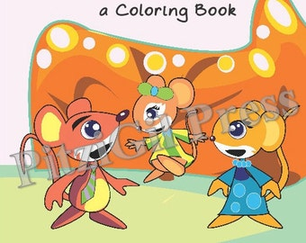 Coloring Book, Children's:  Heaven? Stu? Betsy!