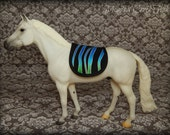 English Saddle Pad for Breyer or Model Horse