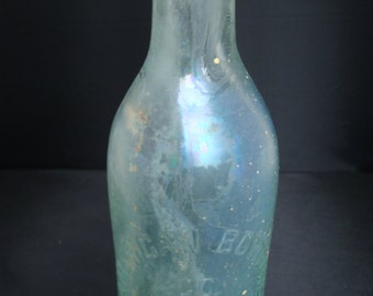 "Antique ""Blobtop"" beverage bottle from American Bottling in New Orleans"