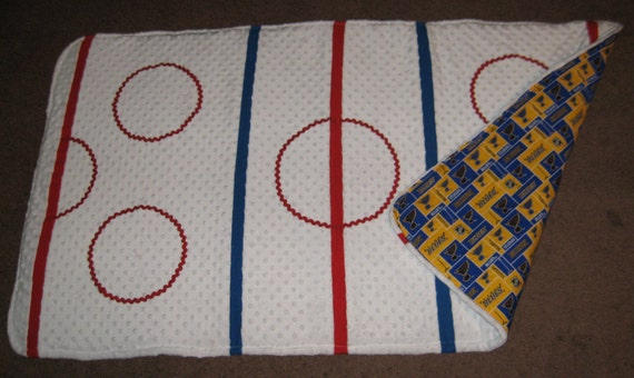 Hockey Baby Playmat St Louis Blues Hockey Baby Playmat