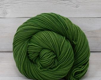Aspen Sport - Hand Dyed Superwash Merino Wool Sport Yarn - Colorway: Moss