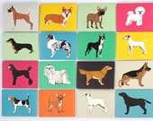 Dogs Mix and Match Stationery Notes