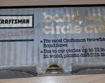 Craftsman Band Saw Circle Cutter 924301