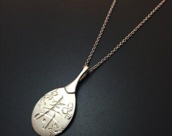 Kanji necklace japanese jewelry Best wish necklace