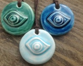 Essential Oil Pendant Eye Diffuser Pendant Aromatherapy Eye of Providence Jewellery Handmade in UK
