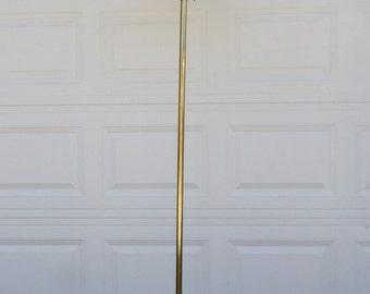 Vintage, Mid Century, Torchiere Floor Lamp, 1970's, Brass, Hollywood Regency, Lamp, Lighting