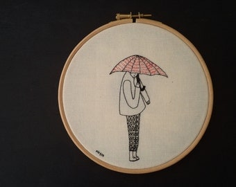 red umbrella (made to order)