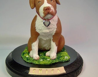 Custom Pet Sculptures from Your Photos and Ideas