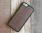 Wood iPhone 7 Case, Walnut Wood iPhone 7 Case, iPhone 7 Wooden Case - SHK-W-I7