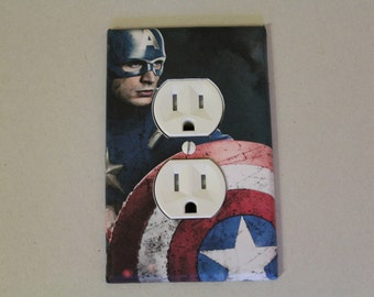 Captain America Avengers  outlet cover plate