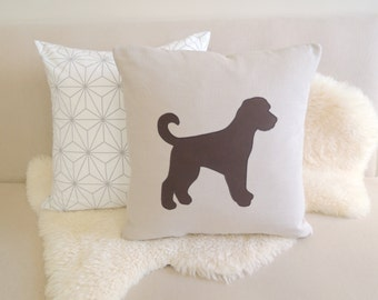 Labradoodle Pillow Cover