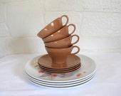 Melmac Melamine Dinnerware Melamine Dishes Melmac Dishes Melmac Dinnerware Melamine Set Melamine Plates Mid Century Dishes Coffee Cup Set
