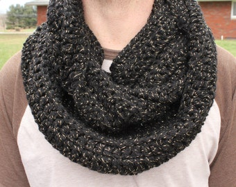 Sparkly Infinity Scarf Cowl Made to Order