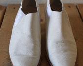 Vintage 1990s Stephane Kelian White Boots/Heels