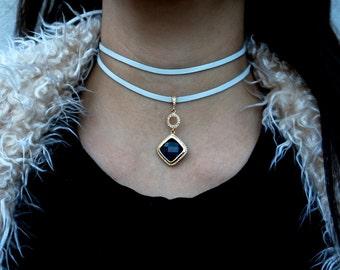 The Sapphire Double Wrap