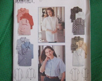 Pattern-Simplicity #9818 Size H Misses Shirt