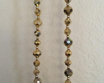 Simple Vintage Gold Necklace