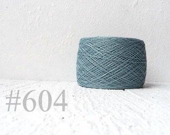 Linen crochet knitting weaving thread  - metallic color #604
