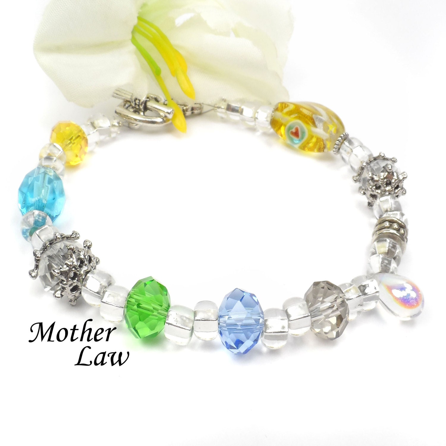Mother In Law Bracelet Mothers Day Gift Idea For