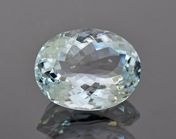 Dazzling Baby Blue Brazilian Aquamarine Gemstone 7.96 cts.